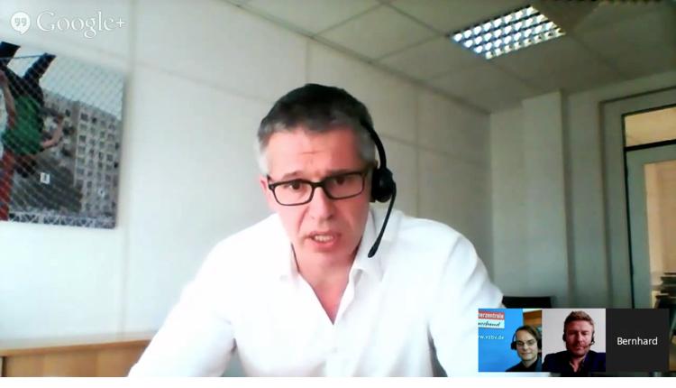 Netzneutralität im Hangout und ein neuer Schwerpunkt