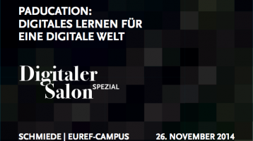 Digitales Lernen für eine digitale Welt?– Digitaler Salon Spezial
