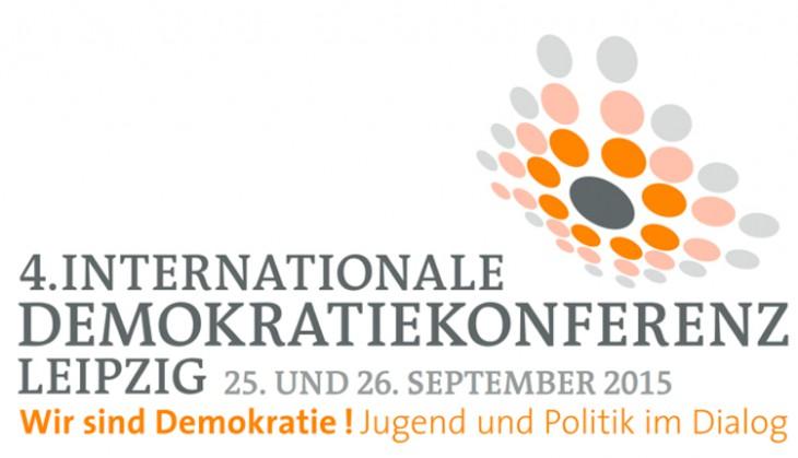 Vorschau auf die 4. Internationale Demokratiekonferenz 2015 in Leipzig