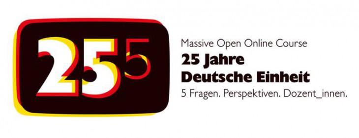 """MOOC """"25 Jahre Deutsche Einheit"""" – Let's give it a try"""