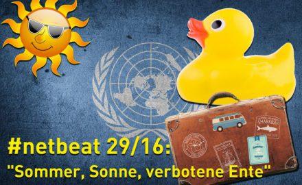 #netbeat 29/16: Sommer, Sonne, verbotene Ente