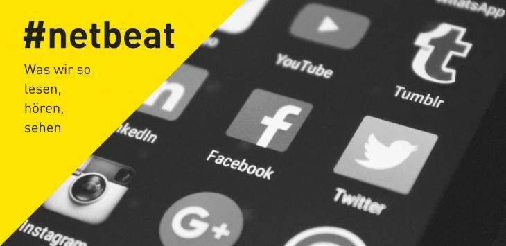 #netbeat 1/17: Influencer für News, Ampeln für Smombies, Neuland