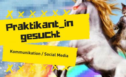 Redaktionspraktikum, Schwerpunkt Kommunikation / Social Media