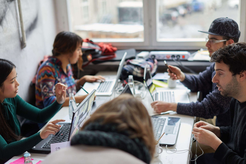 Design-Thinking, Hackathon und Design-Sprint für das Goethe Institut