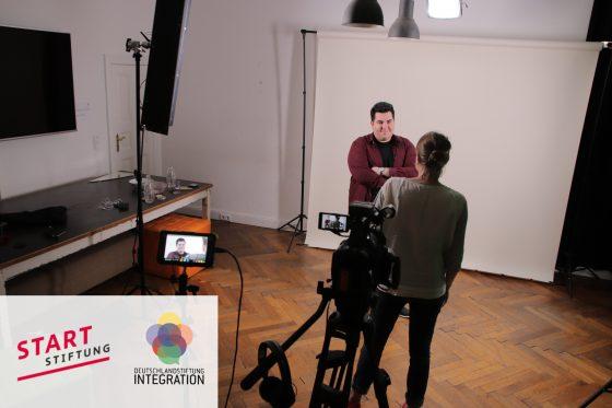 Kampagne und Produktion von Webvideos