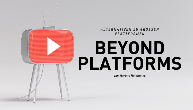 Warum wir YouTube, Facebook und Co. hinter uns lassen sollten