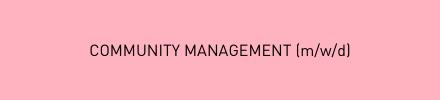 Community Management für AUF KLO (m/w/d)